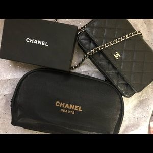 Large Chanel Cosmetic bag